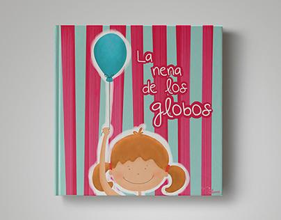 Libro Ilustrado: La nena de los globos.