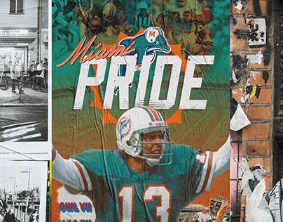 Miami Pride   NFL Poster