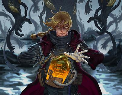 Full Metal Alchemist X Death Stranding