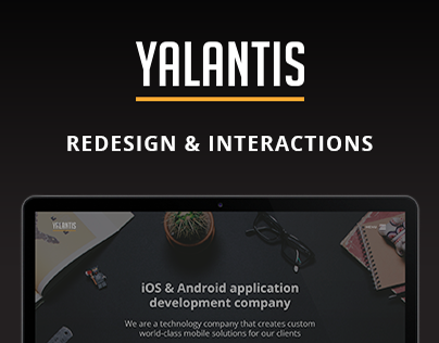 Yalantis.com — Redesign & Interactions