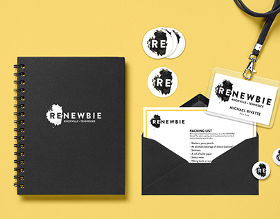 RENEWBIE Design Retreat Branding