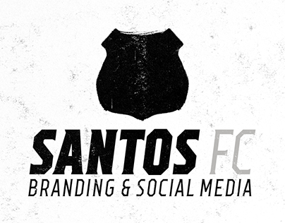 Santos FC Branding & Social Media Concept