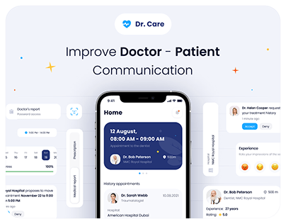 Dr. Care | Mobile App For Patients & CRM For Hospitals