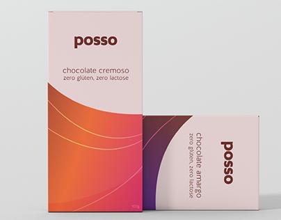 Embalagem Chocolate Posso