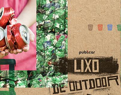 LIXO DE OUTDOOR - Publicar