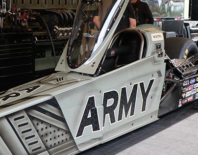 U.S. Army Top Fuel Paint Scheme