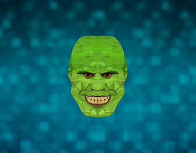 The Mask | Low Poly Illustration