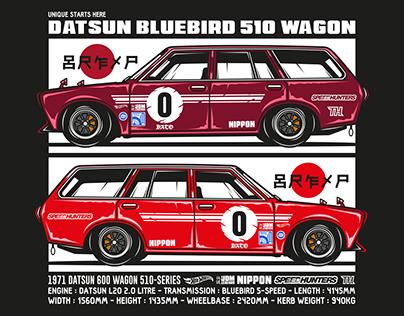 Datsun 510 Wagon Hotwheels