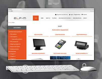 Elf-m e-commerce on Wordpress Woocommerce