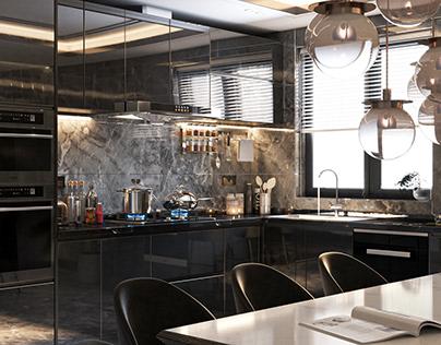 Reflection|Kitchen Design|