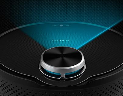 Product Design: Conga Robot Vacuum Cleaners Range