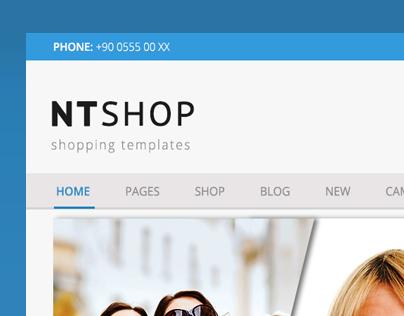 NTSHOP | E-Commerce Design
