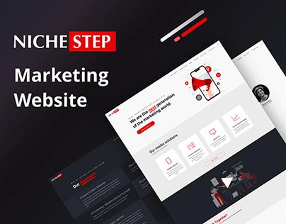 Niche-step Marketing Website Design