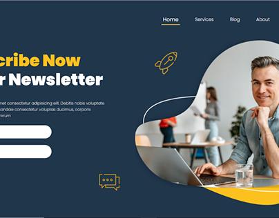 Responsive Web Landing Page