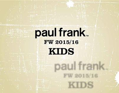 Paul Frank FW 15/16 Product Catalog