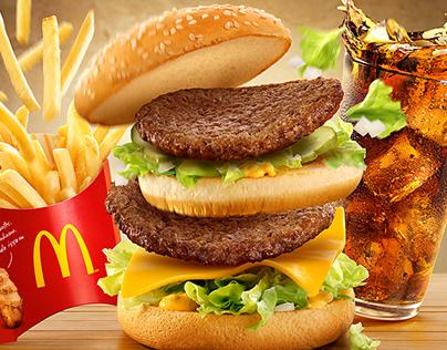 McDonalds Big Mac Combo