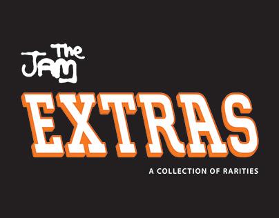 The Jam - Extras LP cover
