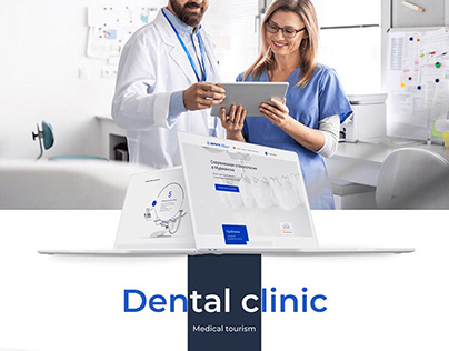 Website for a Dental clinic