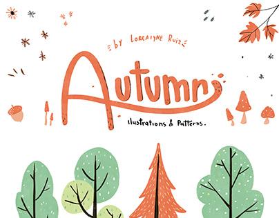 Autumn - Illustrations & Patterns