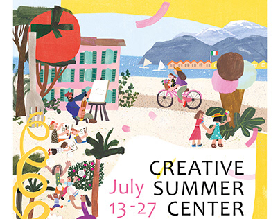 [poster]Creative Summer Center