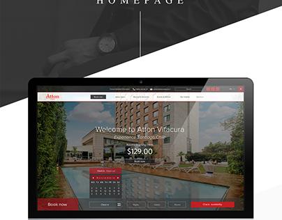 Website | UI · UX & concept ATTON HOTELS