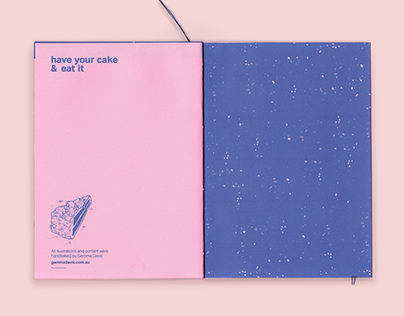 Space Invasion, a piece of cake; Zine