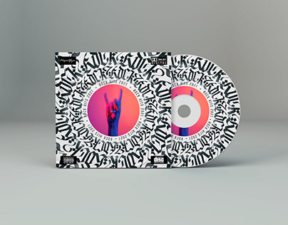 Rock Hits – CD Cover PSD Template