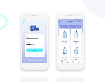 Bottled Water Delivery App