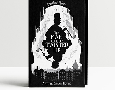 Sherlock Holmes Book Cover
