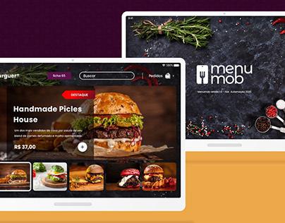 Restaurant Menu App