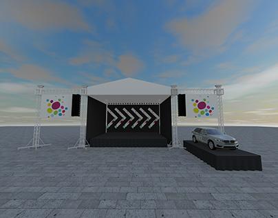 Abi Carshia 2019 - Stage Design