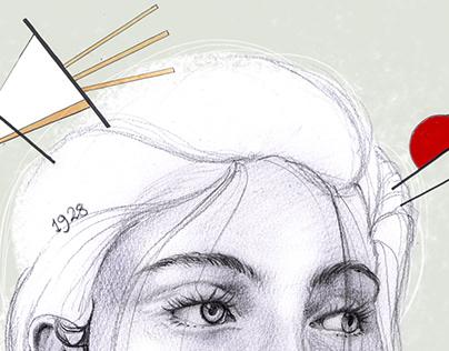 Ilustración - inspiración kandinsky