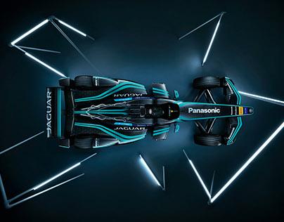 Jaguar I-Type Formula E Racing