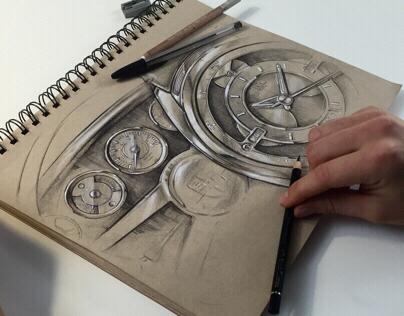 REC 901 - Watch sketches
