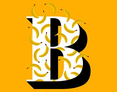 Letra B - Banana ou Brasil?