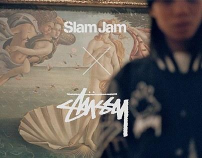 Slam Jam x Stussy