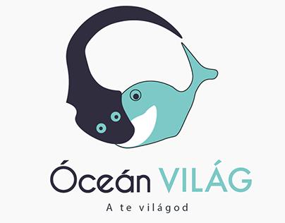 ocean world - logo brand