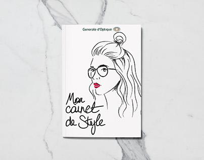 Mon Carnet de Style - Print