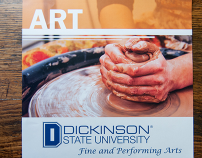 Photography for University Fine Arts posters