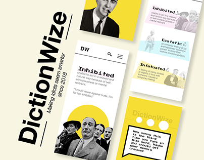 DictionWize - a sassy vintage looking dictionary