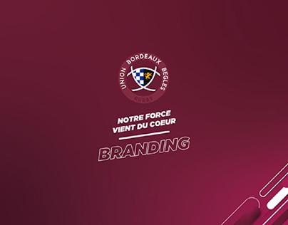 Branding de l'Union Bordeaux Bègles