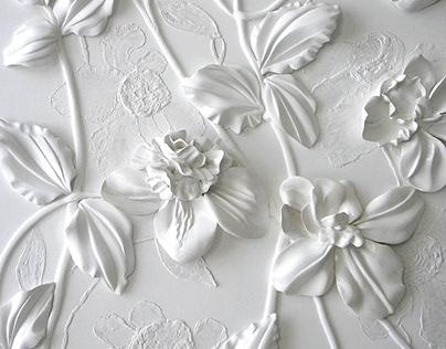 White panno