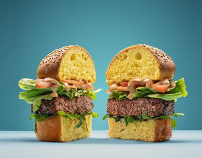 Eat MeAt_vegan burger
