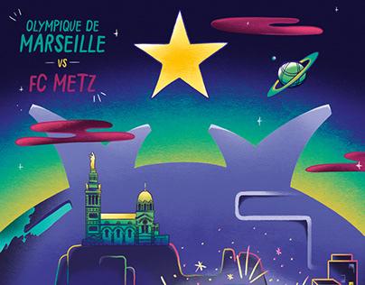 Olympique de Marseille x Maison Transversale