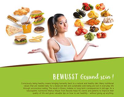 BEWUSST Gesund sein! (Consciously being healthy)