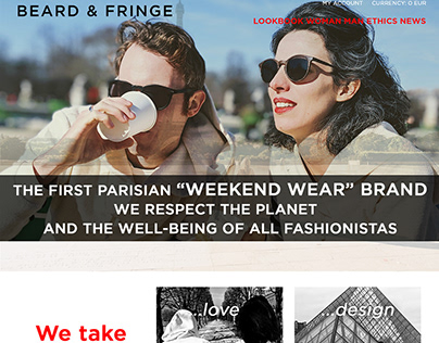 Branding - BEARD & FRINGE