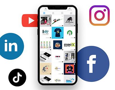 Creative Social Media Posts