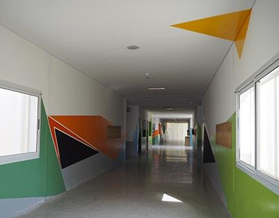 Pintura de Escuela Esther Guevara