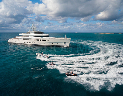 M/Y NAUTILUS, shot in The Bahamas