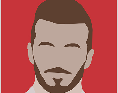 David Beckham Illustration